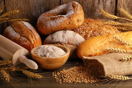 Gesunde ernährung Brot